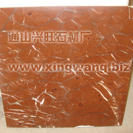 Coral Red Marble Tiles